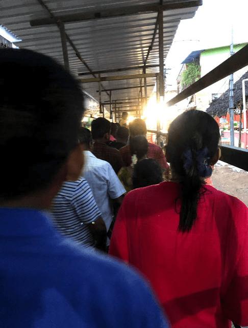 athi varadar special darshan queue