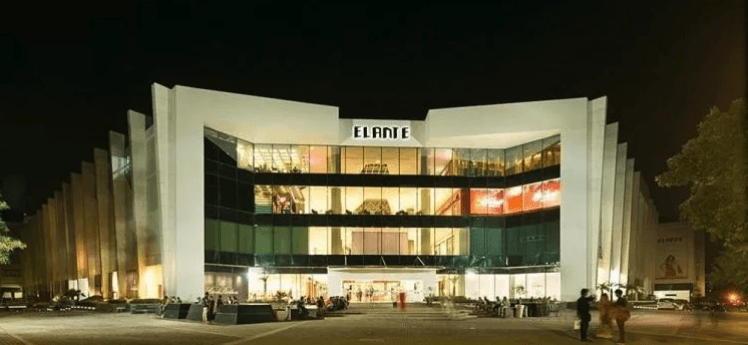 Elante mall bomb threat