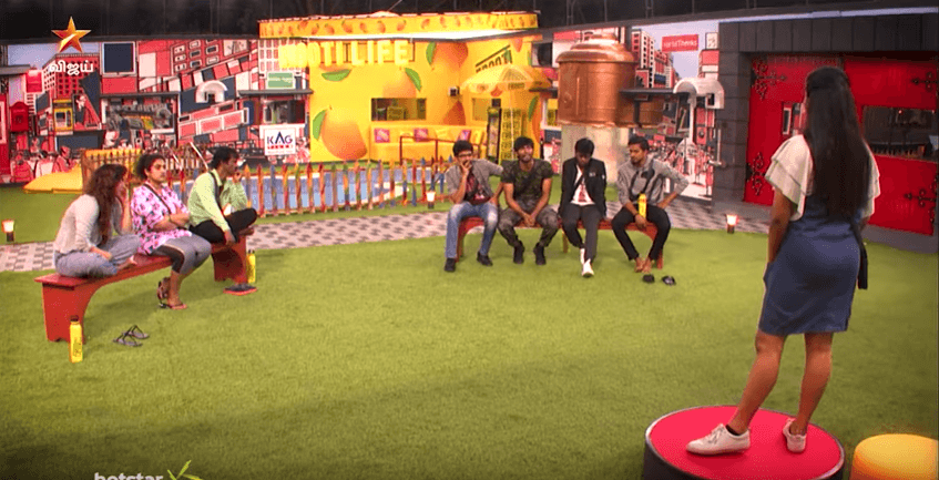 cheran confronts losliya bigg boss 3 tamil august 27