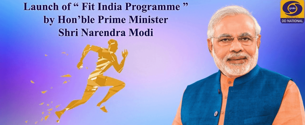 fit india movement live stream 2019