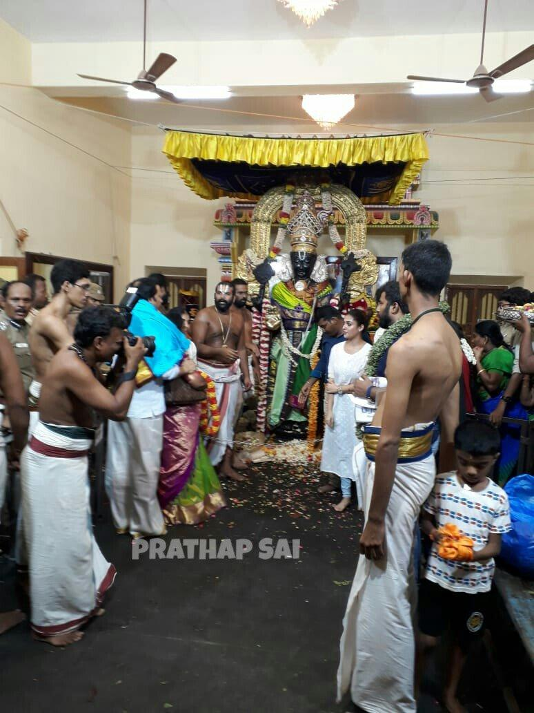 nayanthara athi varadar darshan