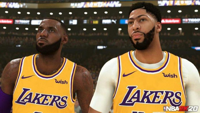nba 2k20 lakers players points