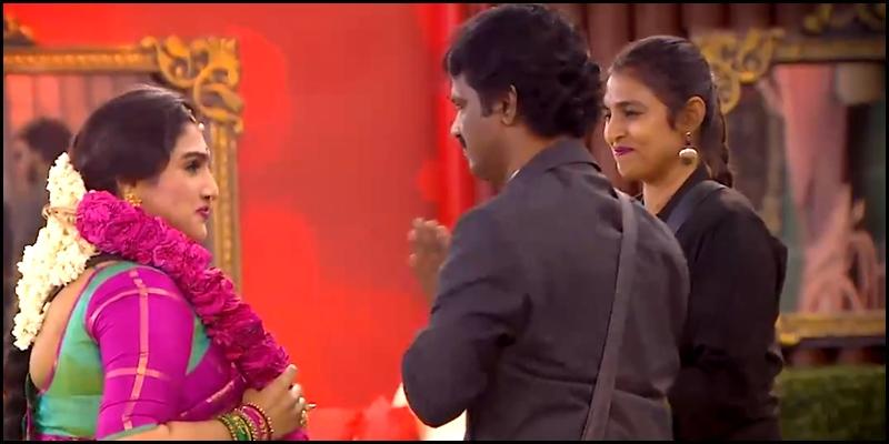 vanitha vijayakumar back bigg boss 3