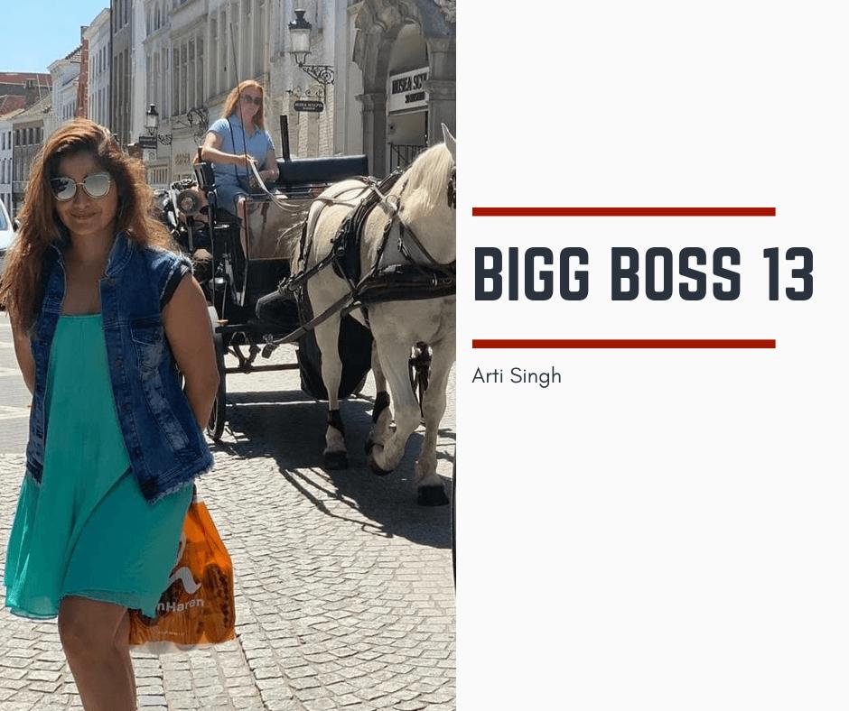 Arti Singh Bigg Boss 13