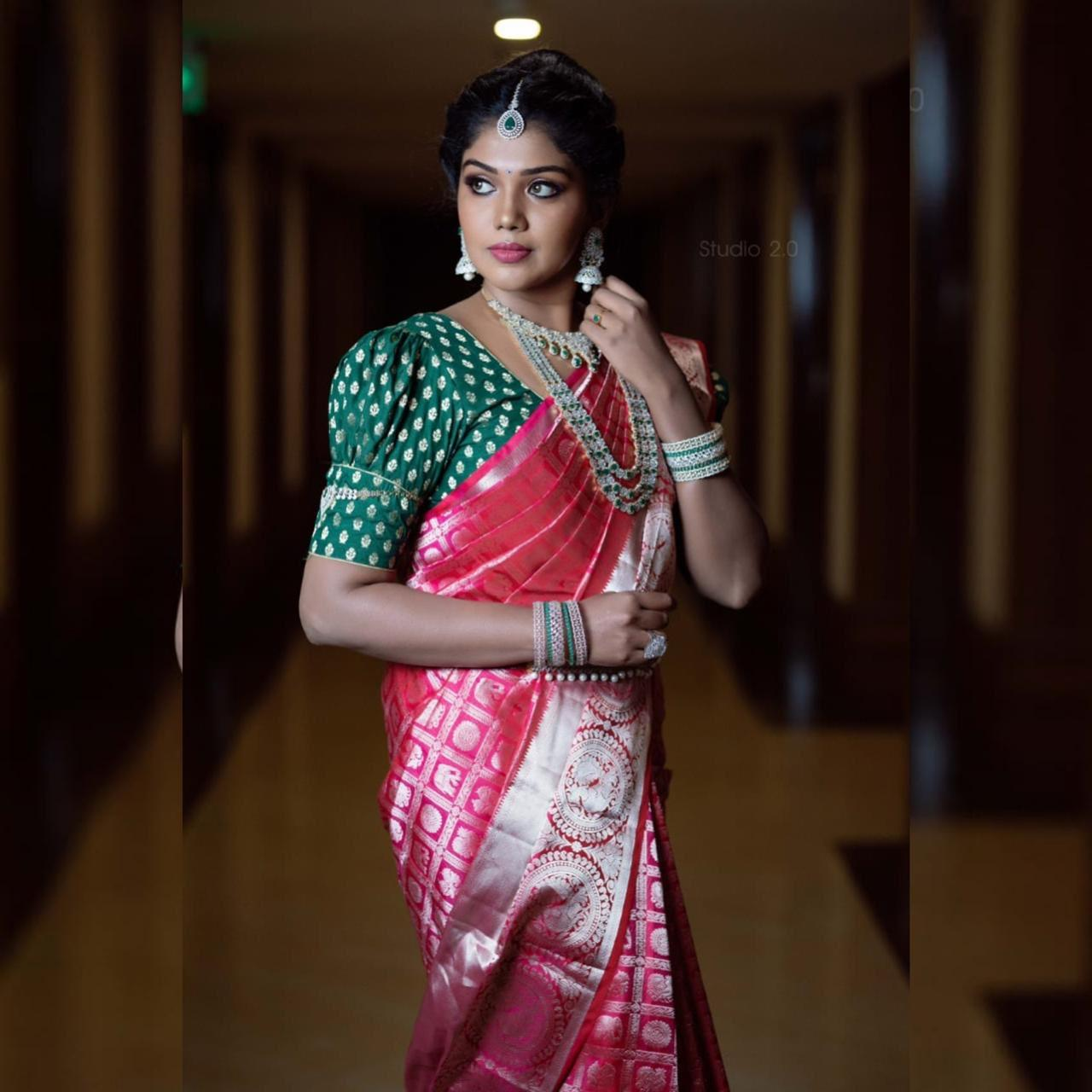 Bigg Boss 2 Tamil winner Riythvika latest Photoshoot