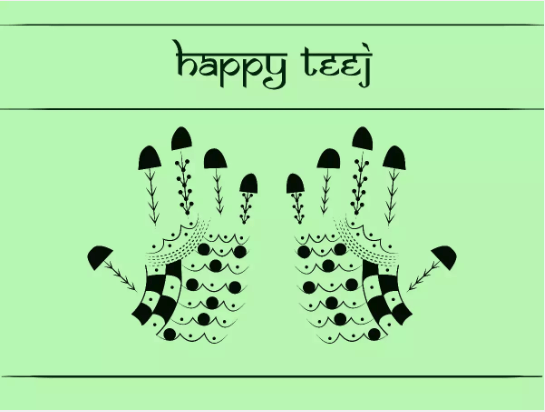 Happy Hartalika Teej 2019 Wishes - Greetings, Images