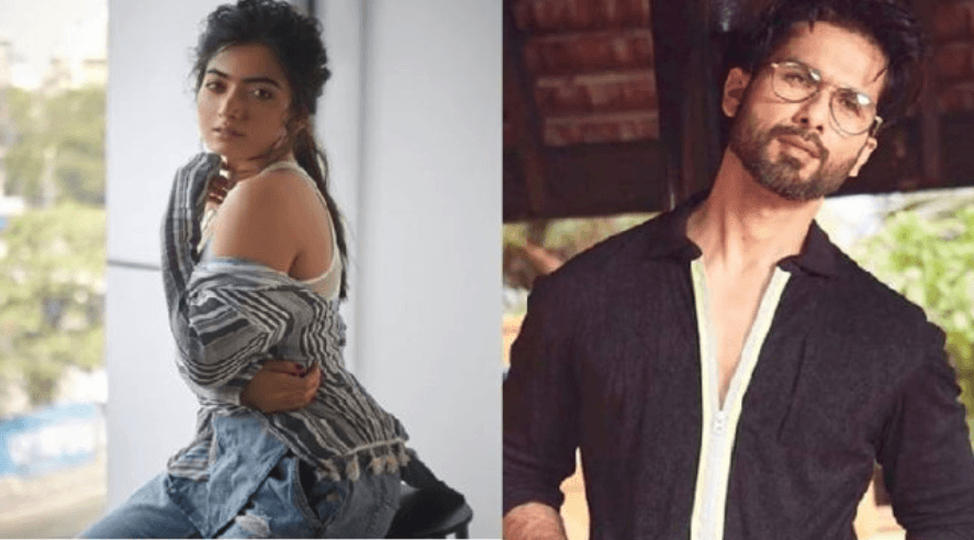 Rashmika Mandanna Romance with Shahid Kapoor in Jersey Remake
