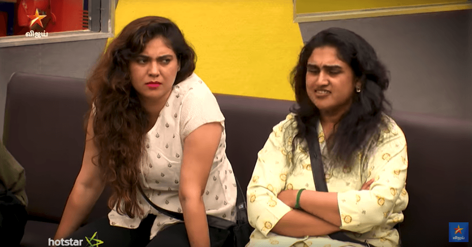 bigg boss day 79 sherin vs vanitha