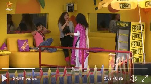 bigg boss 3 tamil vanitha vs sherin