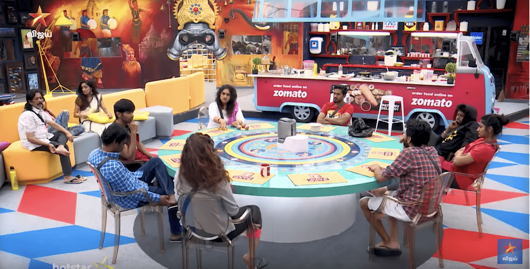 Bigg Boss 3 Tamil September 5 - Vanitha fights with Tharshan