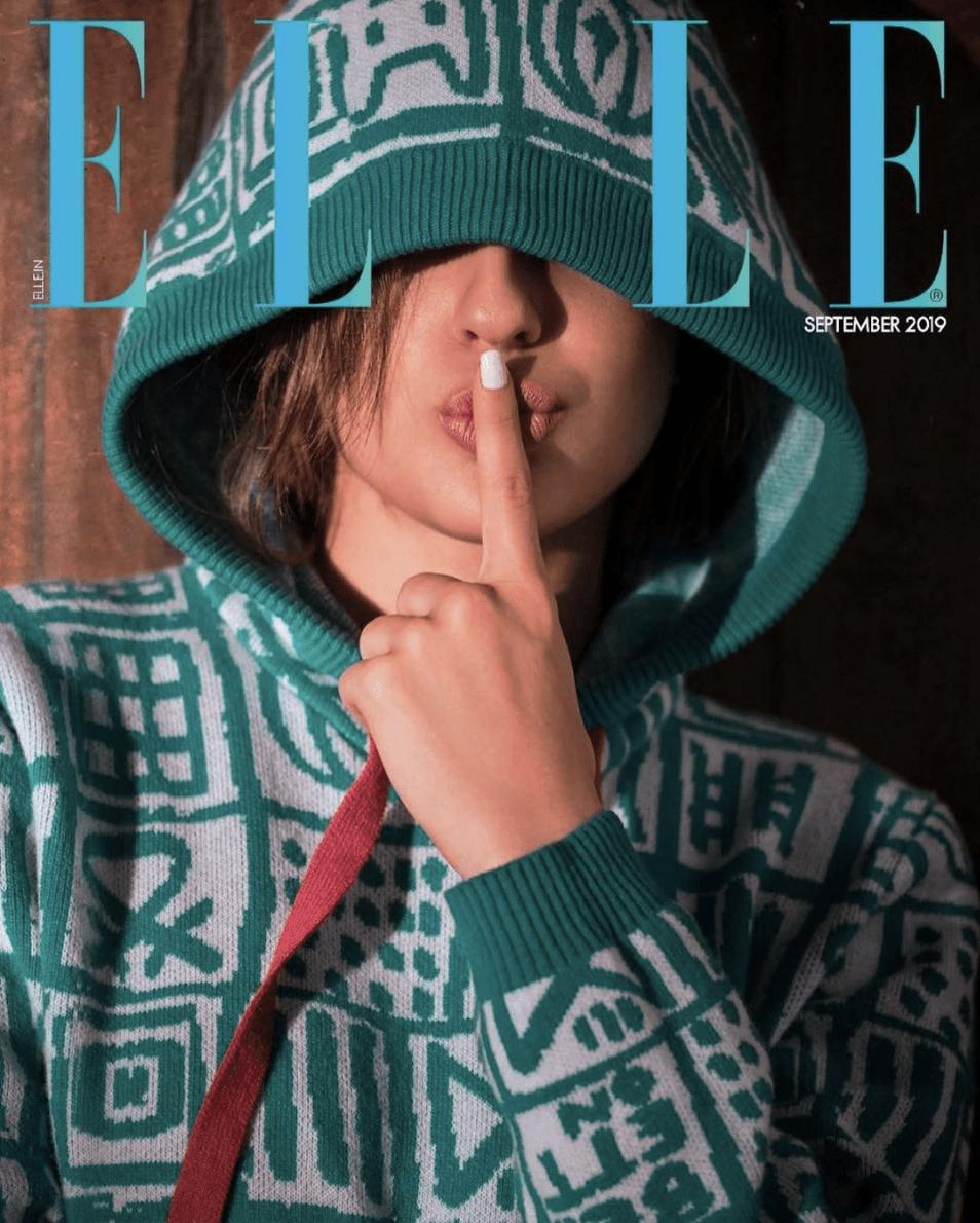 sara ali khan elle magazine 2019