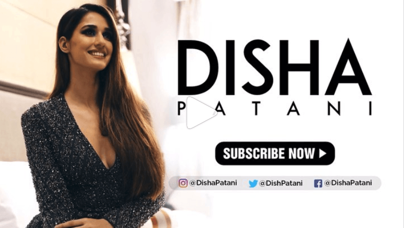 Disha Patani YouTube Channel launch