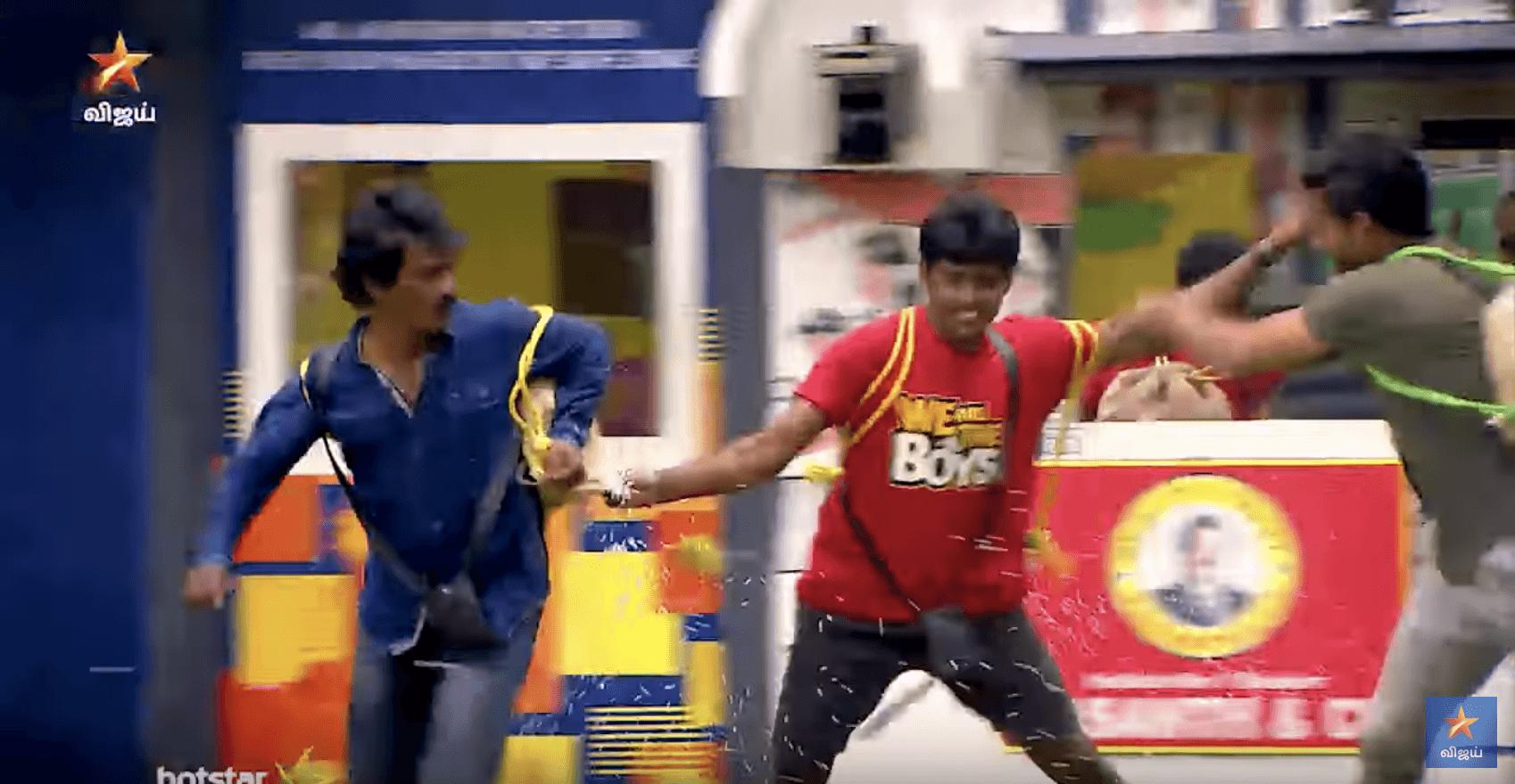 bigg boss kavin vs tharshan