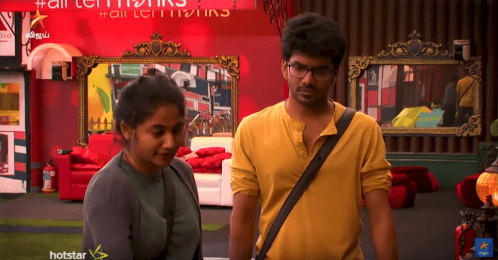 Bigg boss 3 tamil kavin losliya against sandy