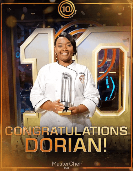 Dorian hunter masterchef season 10 winner