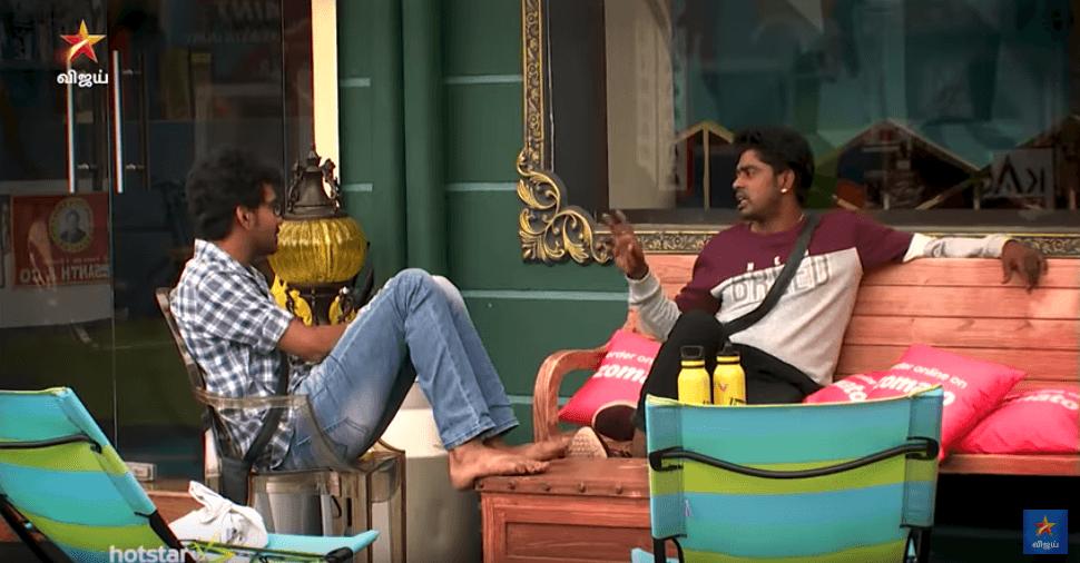 Bigg Boss 3 Tamil September 20 - Sandy's Emotional Talk to Kavin