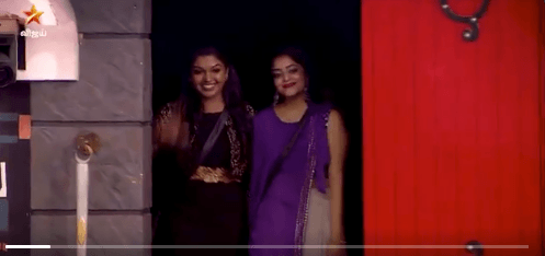 bigg boss 3 tamil janani rithivika enters bb house