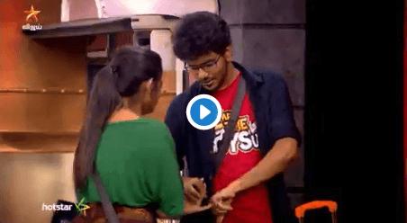 bigg boss 3 tamil kavin losliya love