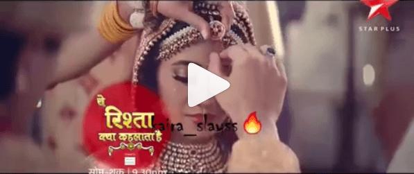 Yeh Rishta Kya Kehlata Hai kartik naira marriage again