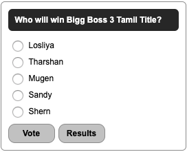 bigg boss 3 tamil title winner vote