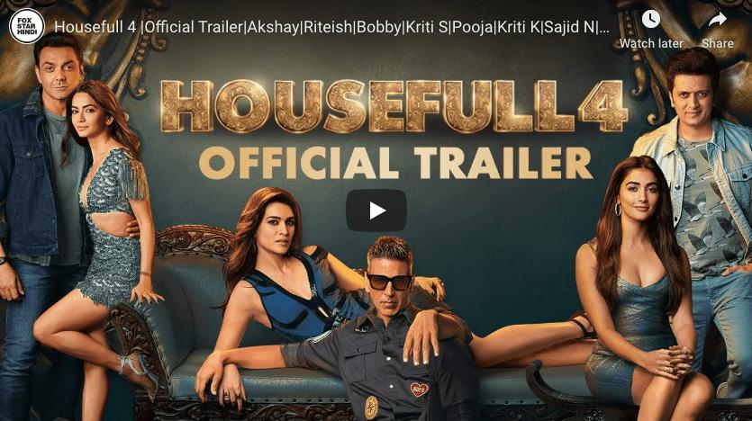 housefull 4 watch trailer online