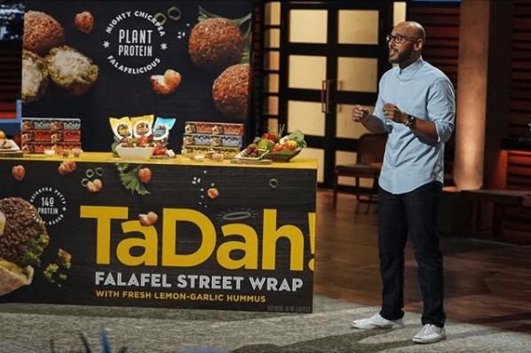 Tadah falafel wrap shark tank