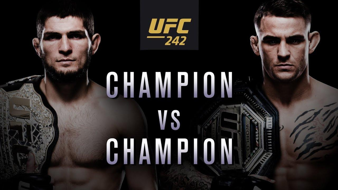 Watch UFC 242 Khabib vs. Poirier live stream