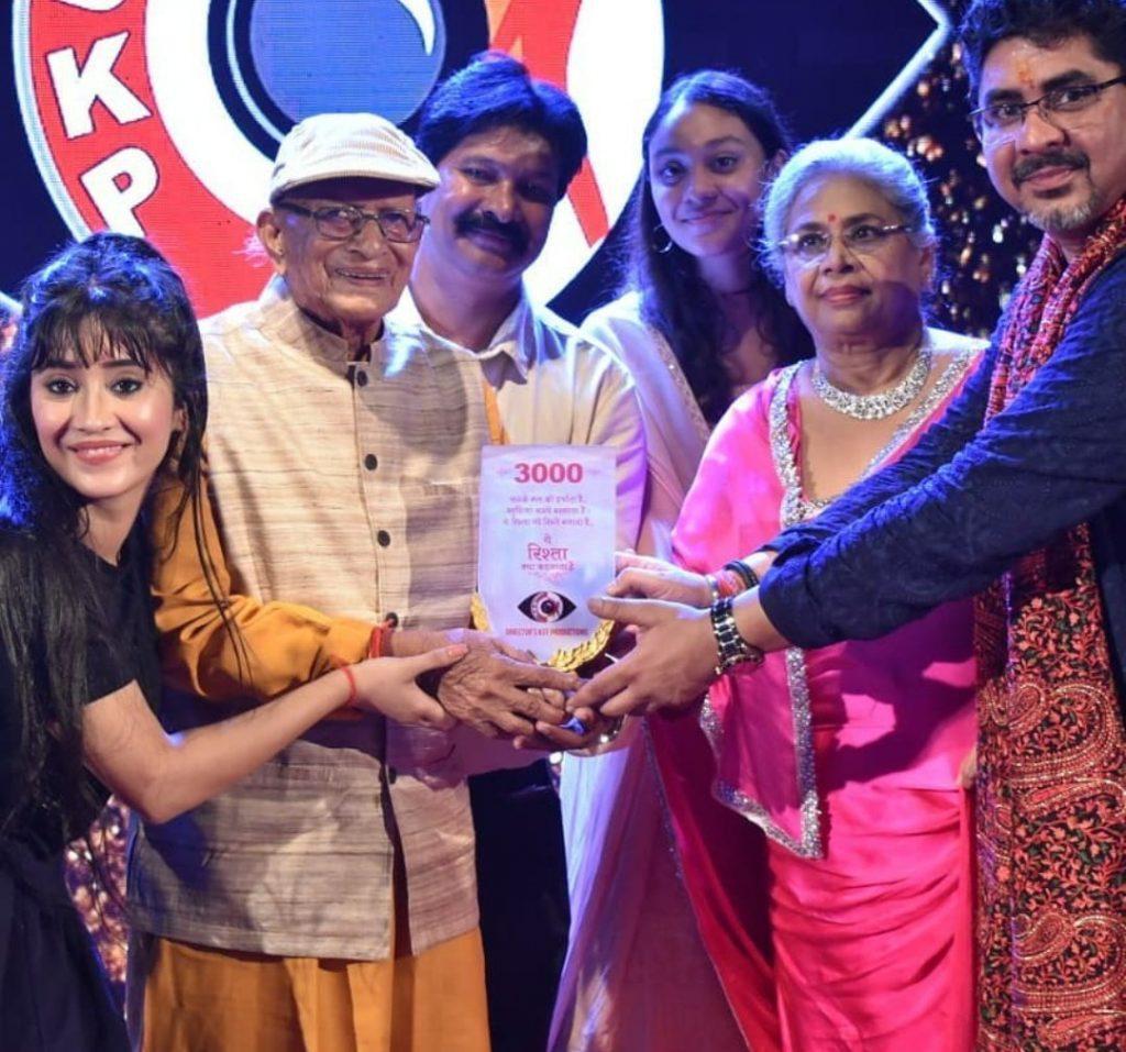 Yeh Rishta Kya Kehlata Hai 3000 celebration shivanji joshi award
