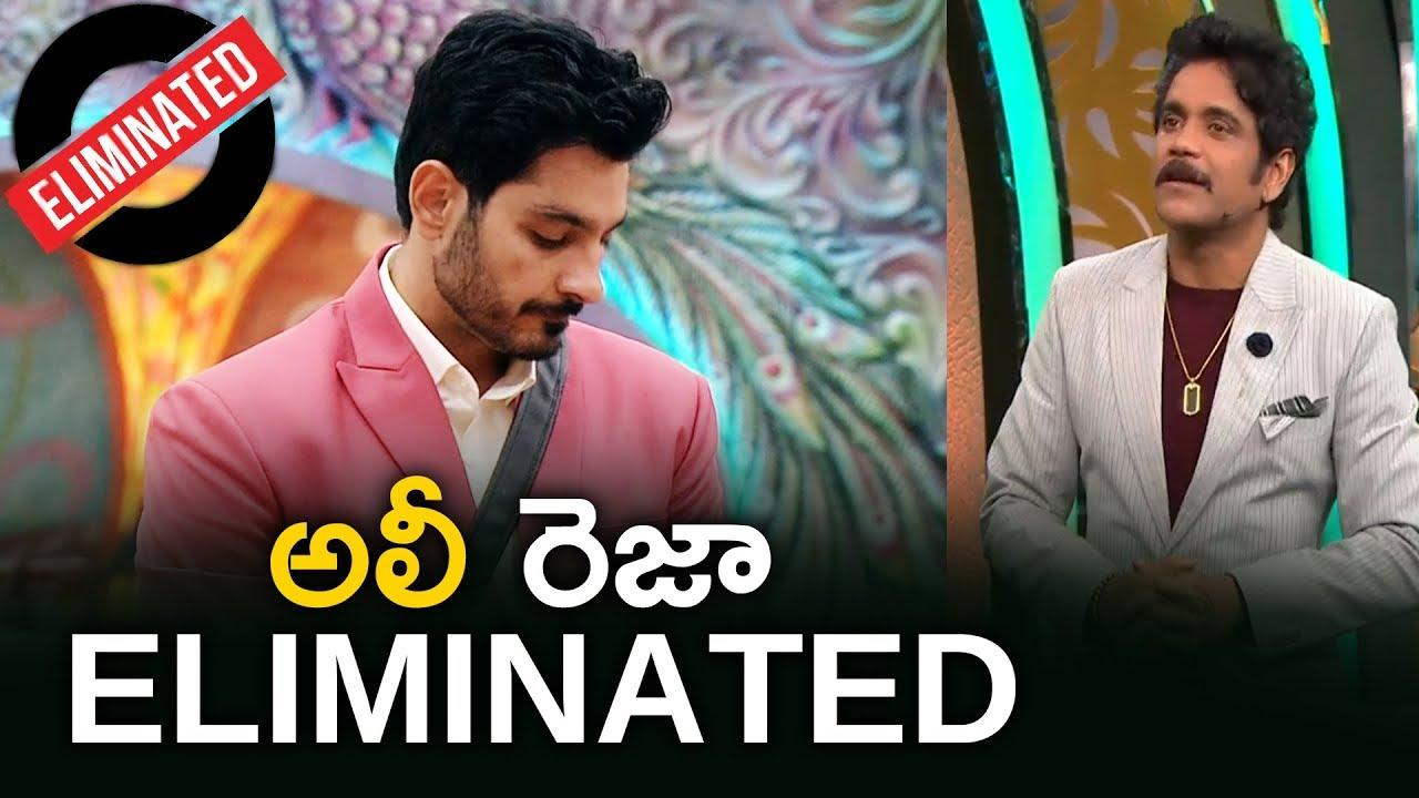ali reza eliminated bb 3 telugu