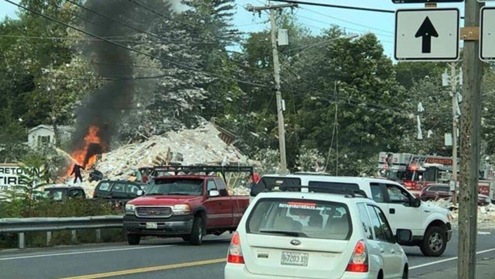 Firefighter killed, 6 injured in building explosion in Maine, authorities say