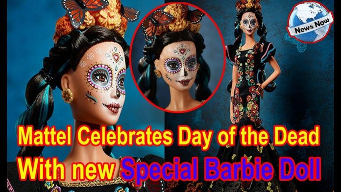 mattel day of the dead barbie 2019