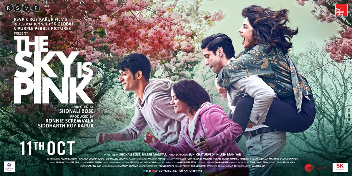 the sky is pink first look poster