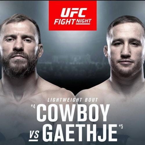 ufc vancouver Cowboy VS Gaethje live stream