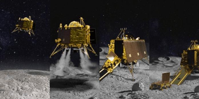 vikram lander located today