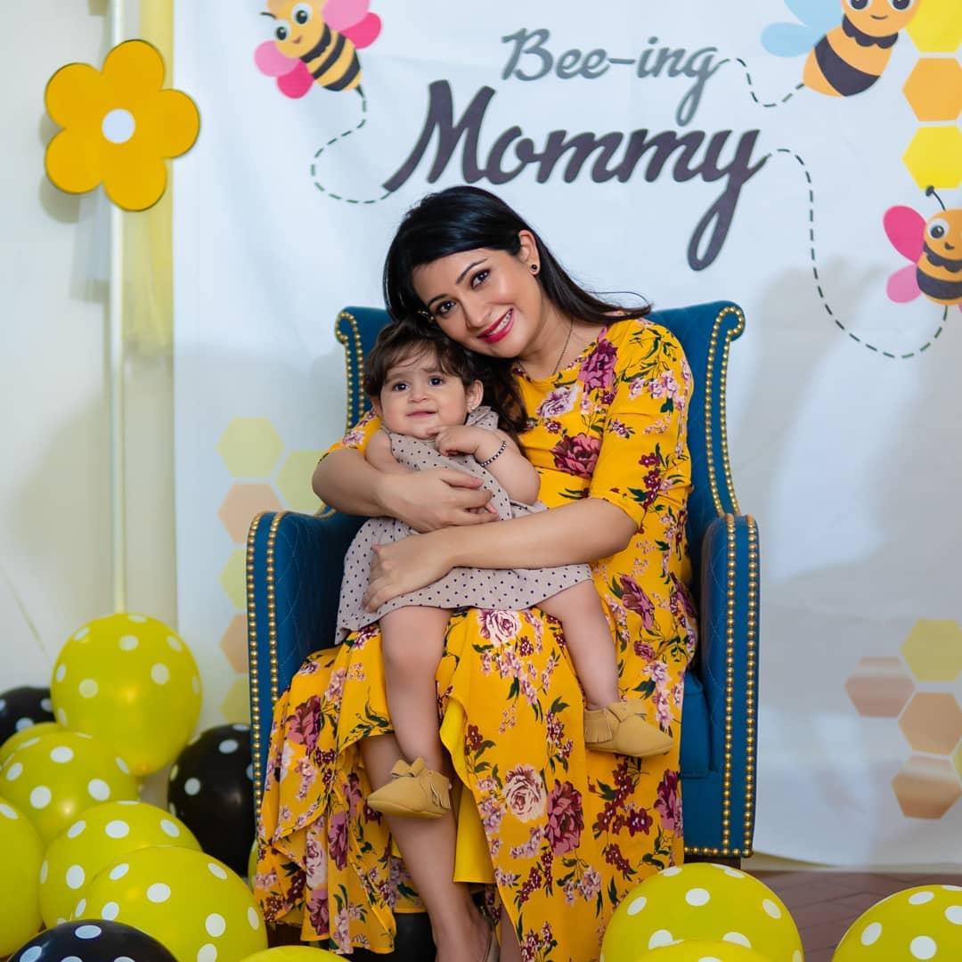 radhika pandit baby shower pictures