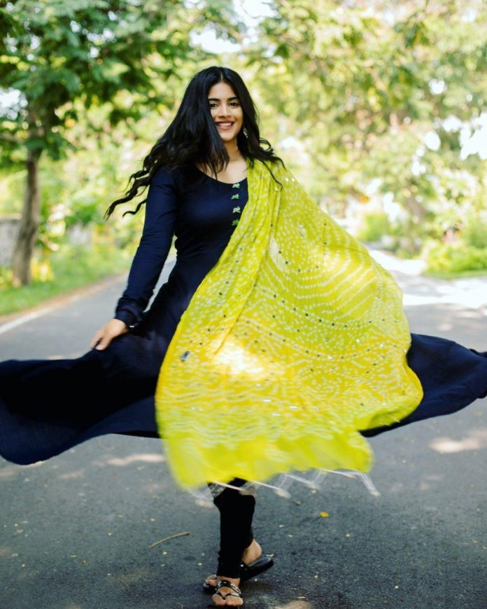 Megha Akash photoshoot