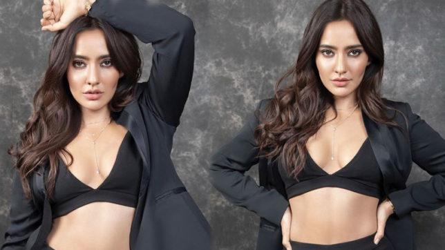 Neha-Sharma-looks-sexy-in-black-dress-which-is-too-hot-to-handle-644x362