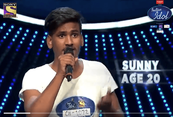 indian idol 11 contestant sunny