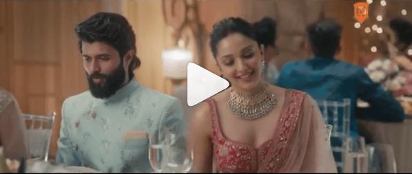 kiara advani vijay devarakonda cute video