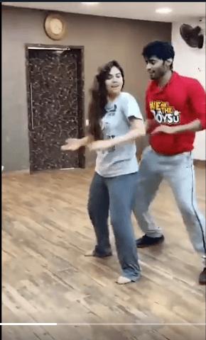 sherin tharshan asuran song dance video