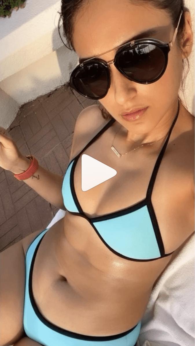 Ileana D'Cruz bikini video