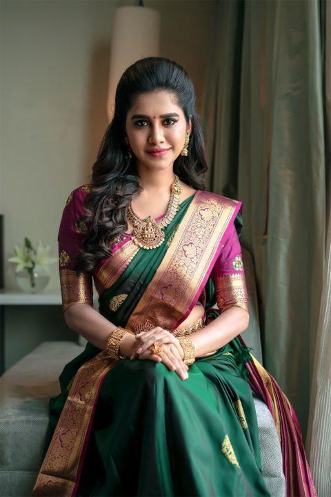 nabha natesh saree photos hot