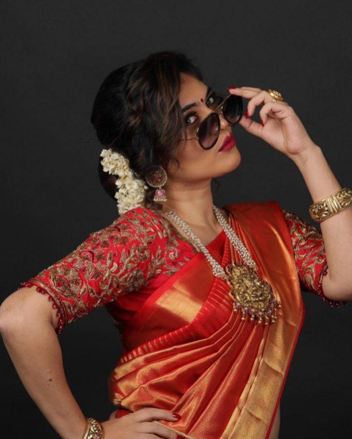 sherin saree pics