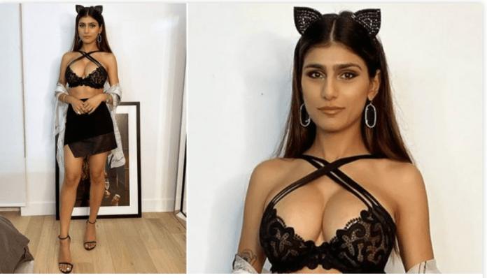mia khalifa halloween photos 2019