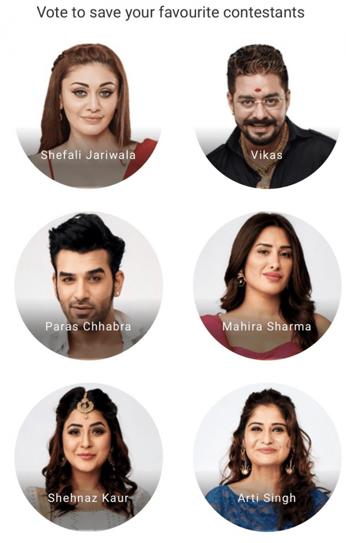 bigg boss 13 voting online week 9