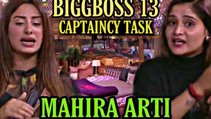 bigg boss 13 vivo captain week 6