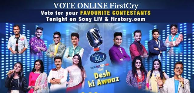 indian idol 11 vote online