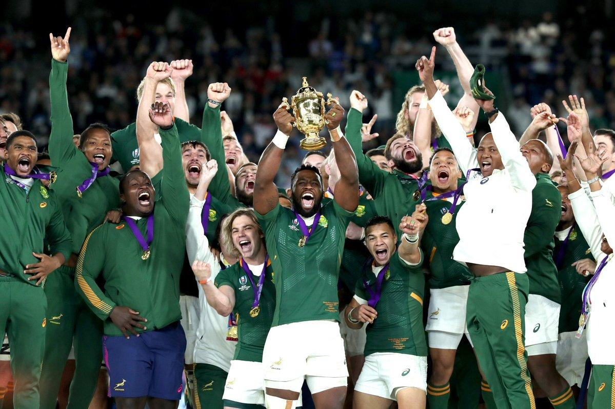 rugby world cup winner south africa