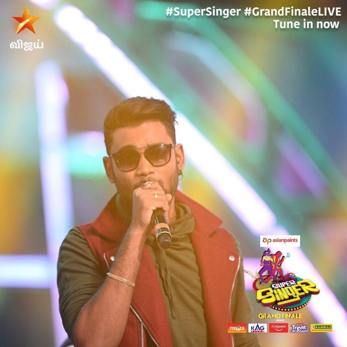sam vishal super singer winner