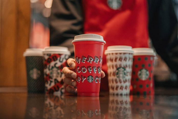 starbucks red cups 2019
